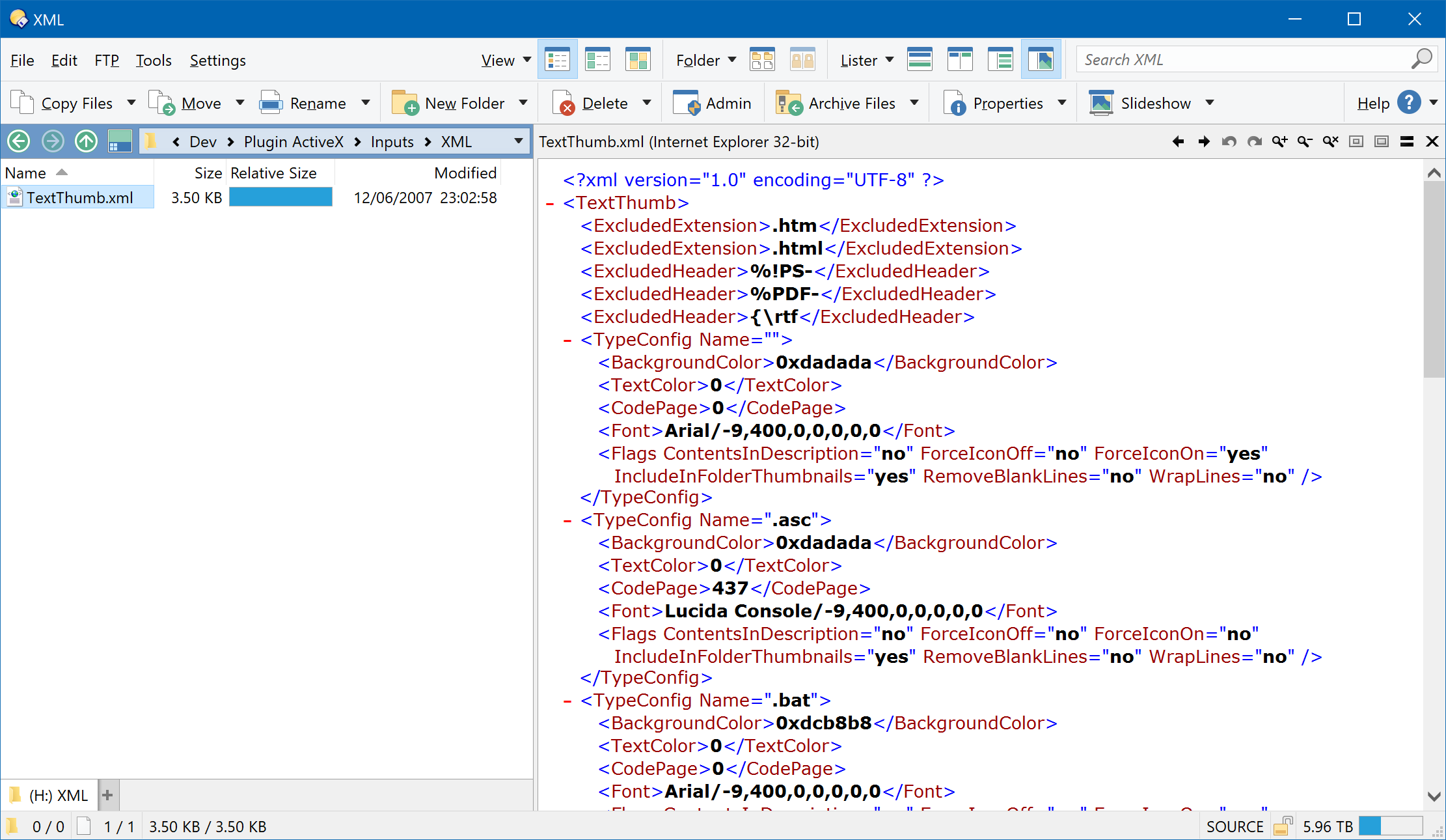 activex   preview   office   web plugin for directory opus
