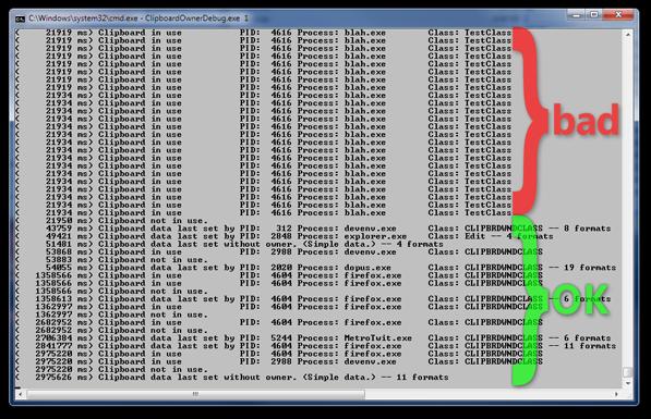 ClipboardOwnerDebug screenshot