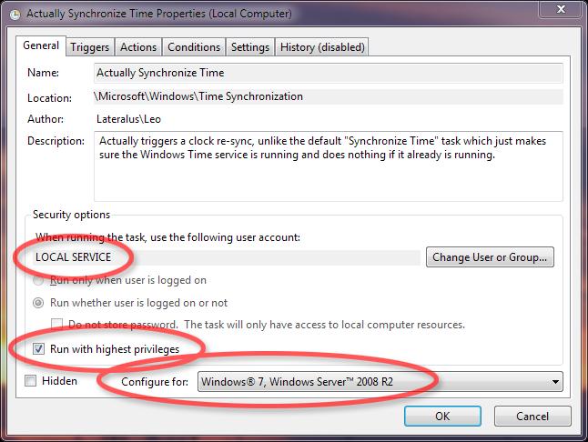 Make Windows synchronize time more often